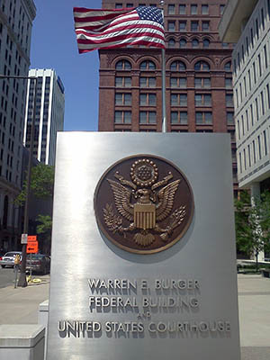 Warren E. Burger Federal Building and United States Courthouse – St. Paul, MN